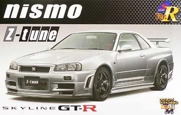 1/24 Sパッケージ バージョンR No.59 NISMO R34 GT-R Z-tune (コンプリートバージョン)