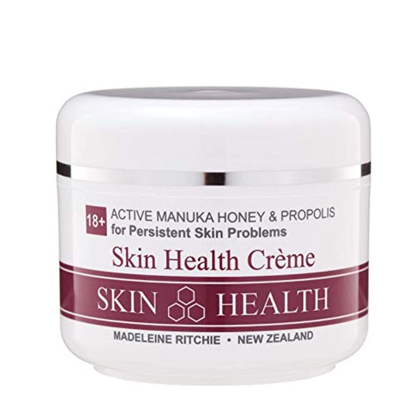 致命的痛み薬剤師Madeleine Ritchie New Zealand 18+ Active Manuka Honey Skin Health Cream Jar 100ml