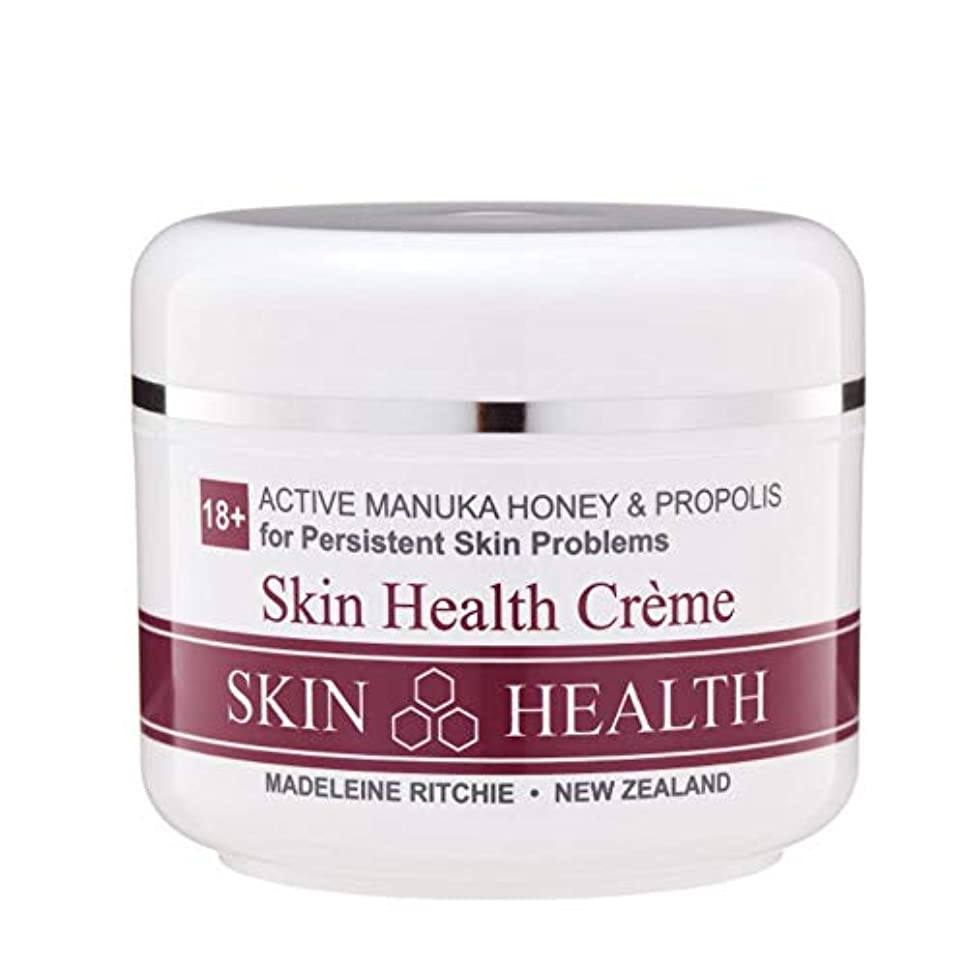 パークゼロウェイターMadeleine Ritchie New Zealand 18+ Active Manuka Honey Skin Health Cream Jar 100ml