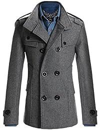トレンチコート メンズ チェスターコート ロング ビジネス メンズファッション アウター コート ダブルボタン 紳士服 秋冬