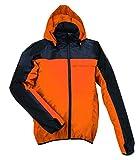 アプトレインハイ レイン ジャケット 総メッシュ裏付き 全5色 10サイズ オレンジ S 防水 2層レイヤー 動きやすい立体裁断 AP280-OR-S