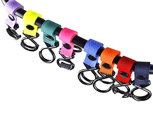 (ラウンドアース キッズ) Round Earth Kids ベビーカーにも使える! フックランダム3色セット 簡単・丈夫・使いやすい いろんな用途に幅広く使える必須アイテム ランダム3色セット
