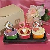 2015ホワイトデー アイスクリーム3個入りギフトプレゼント