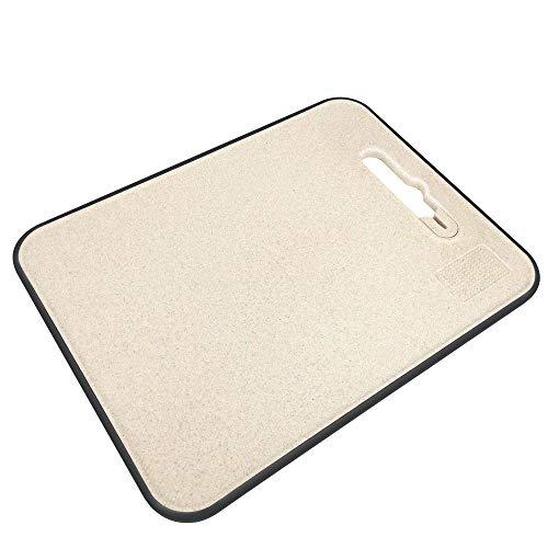 まな板 抗菌まな板 天然麦わらのまな板 包丁研ぎ器に付き 1枚3役多機能家庭まな板 調理 料理 人気 結婚祝 新築祝 アップデート(37.5 *28.5cm *1cm)