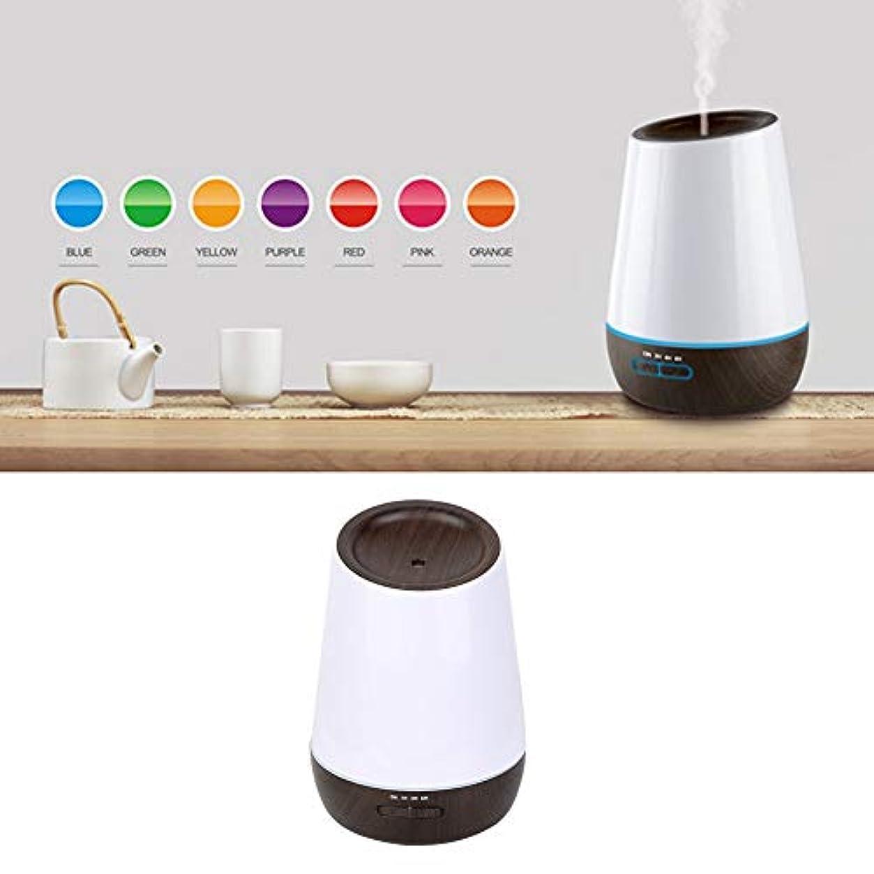 便宜かみそり聴くアロマエッセンシャルオイルディフューザー付き7色led 500ミリリットルクールミスト加湿器寝室リビングルーム研究ヨガスパ(100?240V)