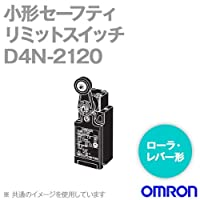 オムロン(OMRON) D4N-2120 形D4N 小形セーフティ・リミットスイッチ (ローラ・レバー形) (1コンジット形) (1NC/1NO) NN