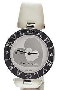 [ブルガリ] BVLGARI B.zero1 B-zero1 Bzero1 ビーゼロワン ダブルハート文字盤 35mm クォーツ 腕時計 BZ35S BZ35WHSL【u】 [中古]