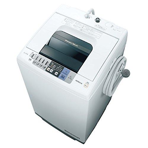 日立 全自動洗濯機 7kg ピュアホワイト NW-70B W