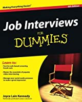 Job Interviews For Dummies by Joyce Lain Kennedy(2011-12-27)