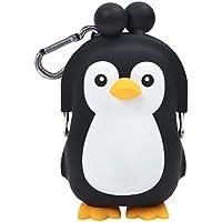 (ピージーデザイン) p+g design がまぐち ペンギン 3D POCHI FRIENDS PENGUIN-Black【2270】