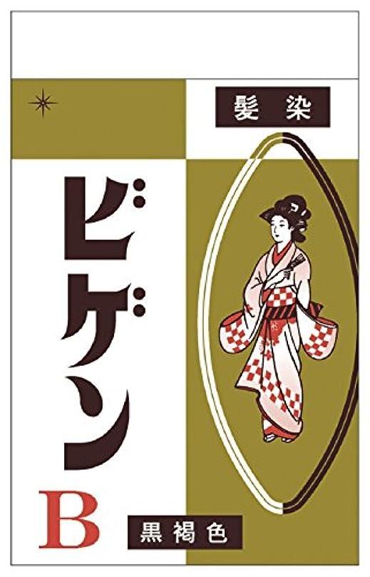 正しい性別封筒ホーユー ビゲン B (自然な黒褐色) 6g [医薬部外品]