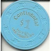 $ 1 Continentalラスベガスカジノチップヴィンテージ
