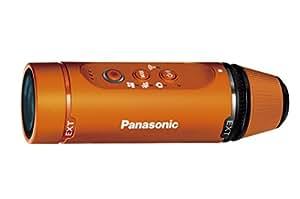 パナソニック ウェアラブルカメラ オレンジ HX-A1H-D