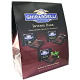 GHIRARDELLI(ギラデリ) チョコレート インテンスダーク プレミアムテイスティングコレクション50個セット