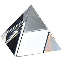 Waltz&F3.8cm三角錐形ペーパーウェイト クリスタルプリズム太陽光が反射してレインボーが出てきます