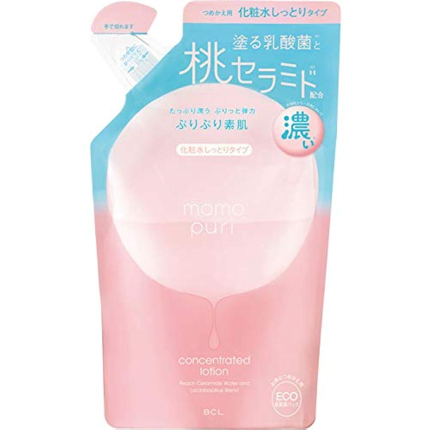 脈拍判定おなじみの【7個セット】ももぷり 潤い濃密化粧水 つめかえ用 180ml