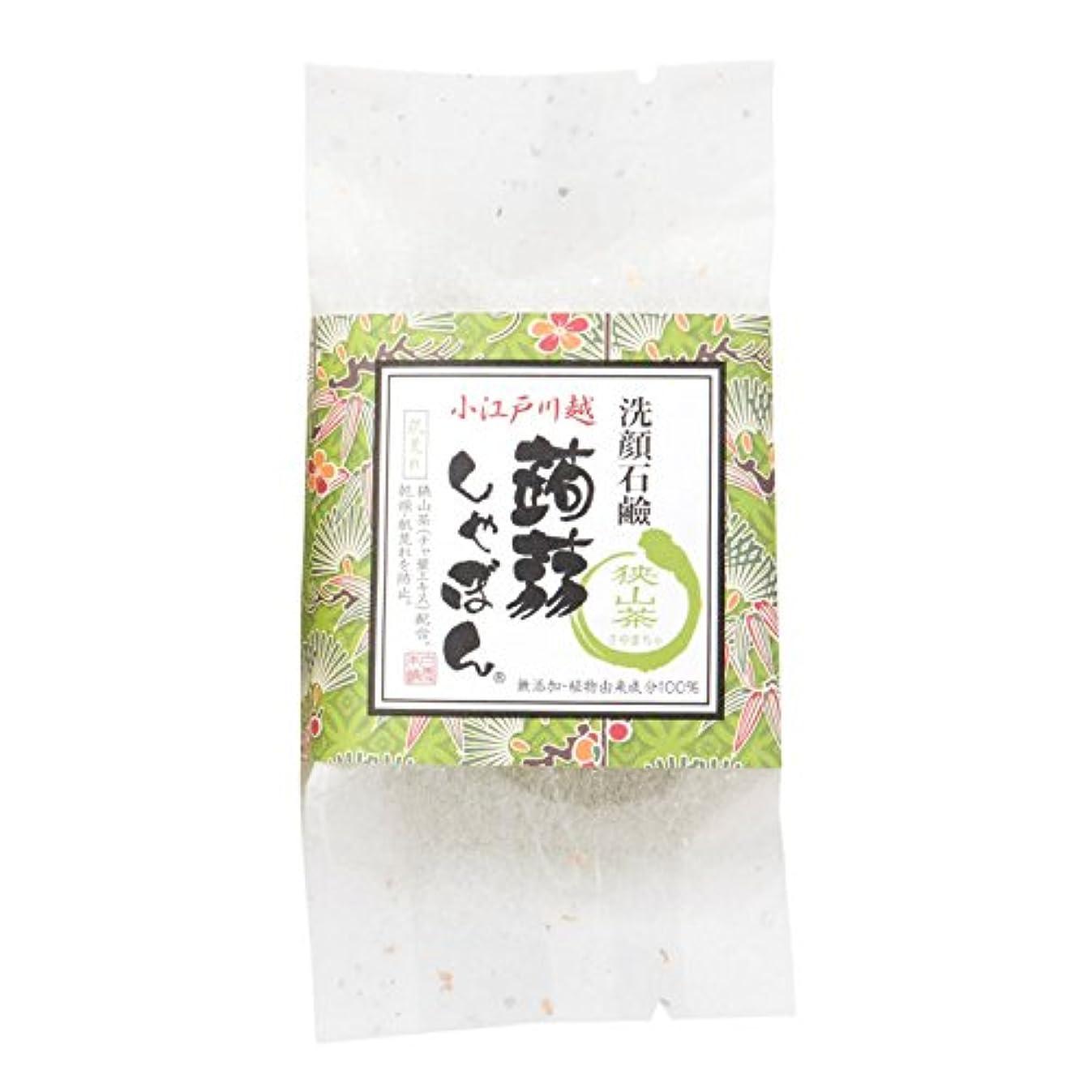 長老曇ったラベ川越蒟蒻しゃぼん狭山茶(さやまちゃ)