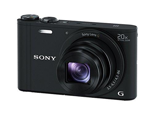 ソニー SONY デジタルカメラ Cyber-shot WX350 光学20倍 ブラック DSC-WX350-B -