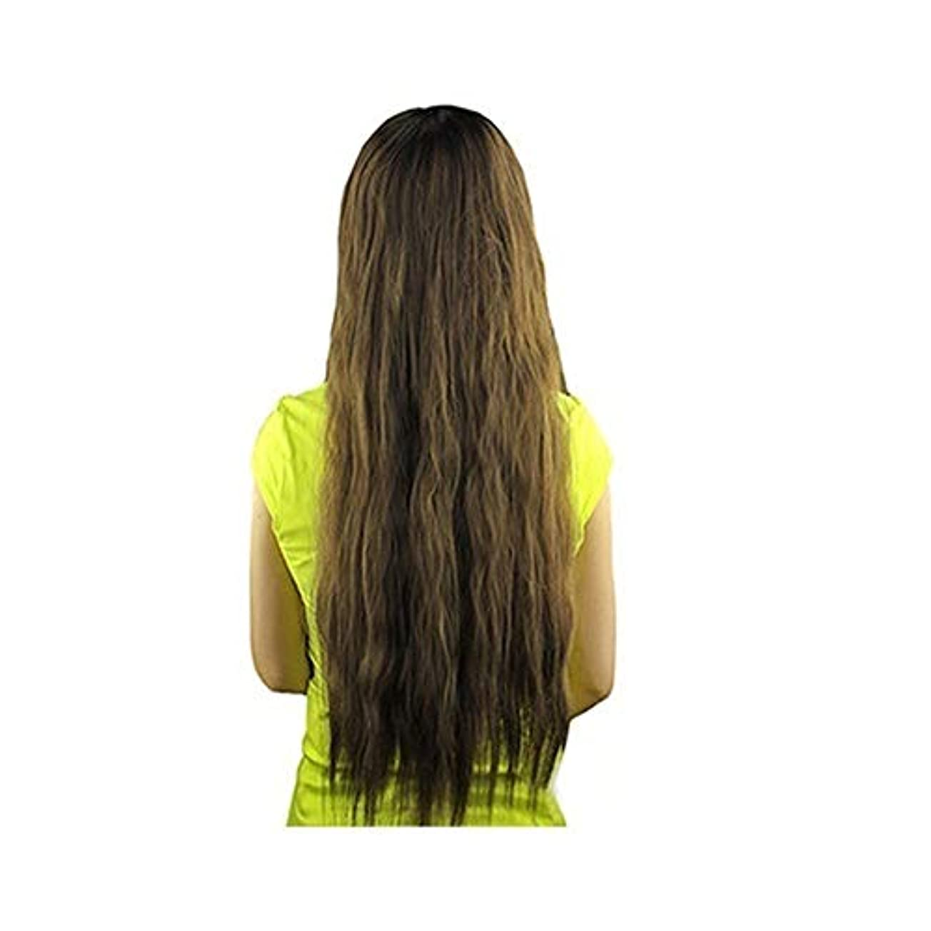 頻繁に外国人ネットslQinjiansav女性ウィッグ修理ツール女性長波状バング髪ウィッグ耐熱パーティーコスプレ合成ヘアピース