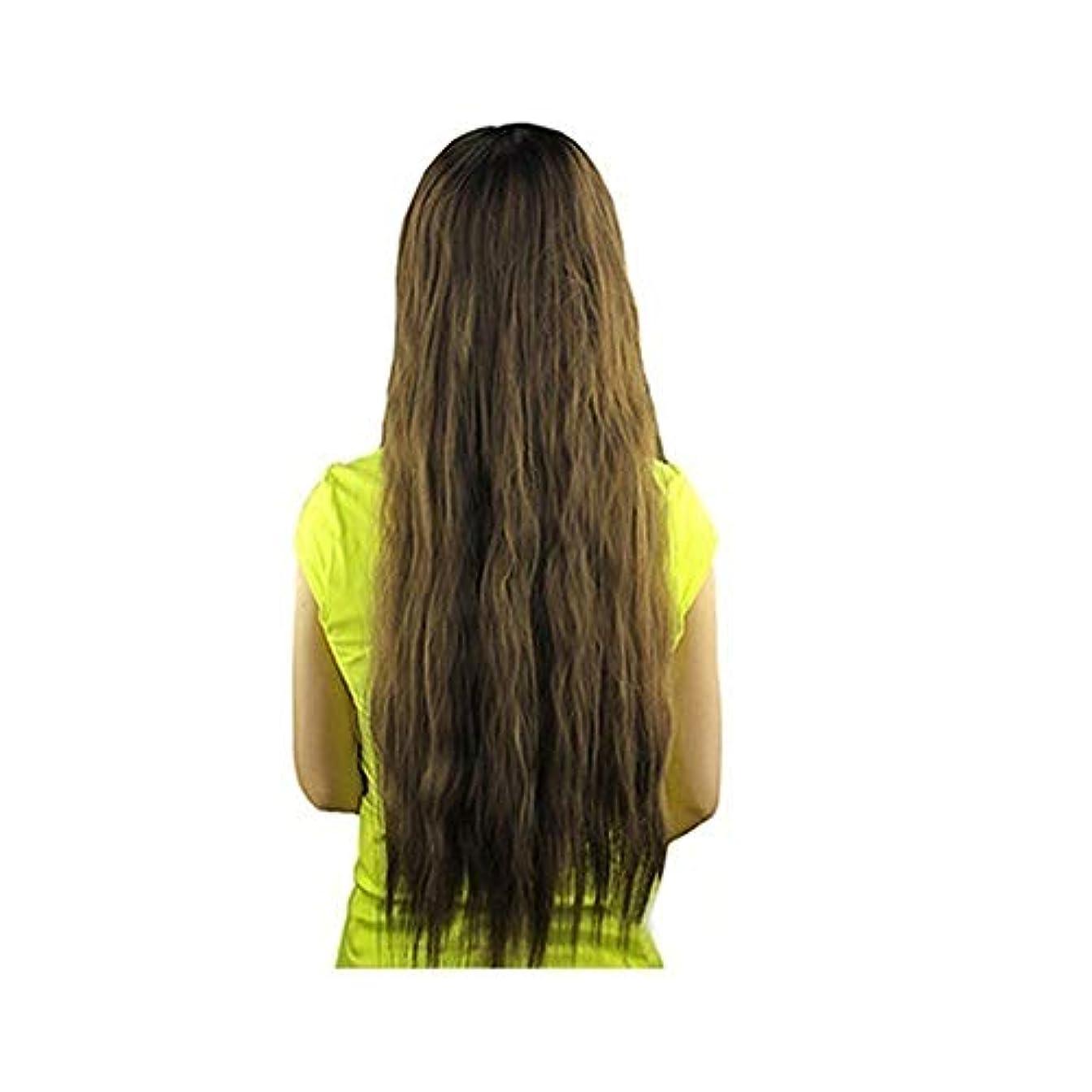 監査消える層slQinjiansav女性ウィッグ修理ツール女性長波状バング髪ウィッグ耐熱パーティーコスプレ合成ヘアピース