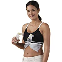 BRAVADO! DESIGNS Women's Maternity Clip and Pump Hands-Free Nursing Bra Accessory