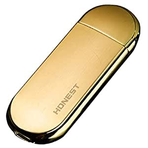 MIRAIS 電熱線 電子 ライター シュタイン USB 充電式 ニクロム 煙草 タバコ 喫煙 (ゴールド) MR-LSTEIN-GD