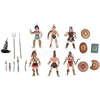 古代ローマグラディエーター中世Warriors図モデルプレイセットfor Kids