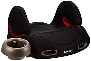 コンビ Combi ジュニアシート ムーヴフィットジュニア ブースターシートSZ メッシュブラック (3歳~11歳頃対象) 通気性の高いエアスルーシステム