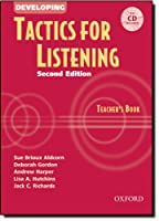 Developing Tactics for Listening: Teacher's Book