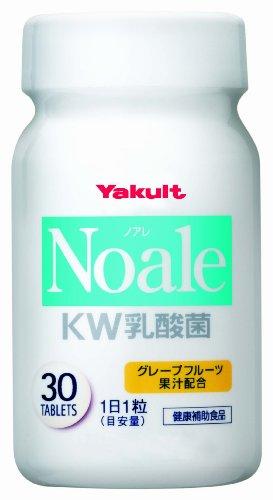 ヤクルト Noale(ノアレ) KW乳酸菌(タブレット) 30粒
