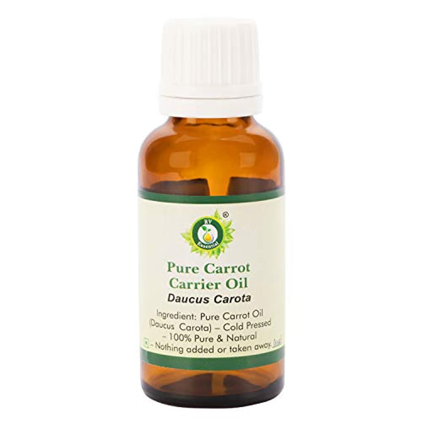 これらデンプシー心理的にピュアキャロットキャリアオイル100ml (3.38oz)- Daucus Carota (100%ピュア&ナチュラルコールドPressed) Pure Carrot Carrier Oil