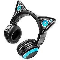 LED付き 高機能 ネコ耳ヘッドフォン 『AXENT WEAR』 Cat Ear Headphone…