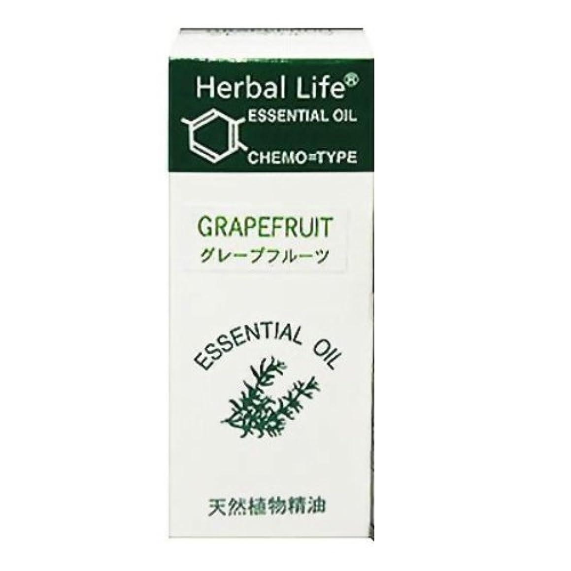 軽減する欺教授生活の木 エッセンシャルオイル グレープフルーツ 10ml