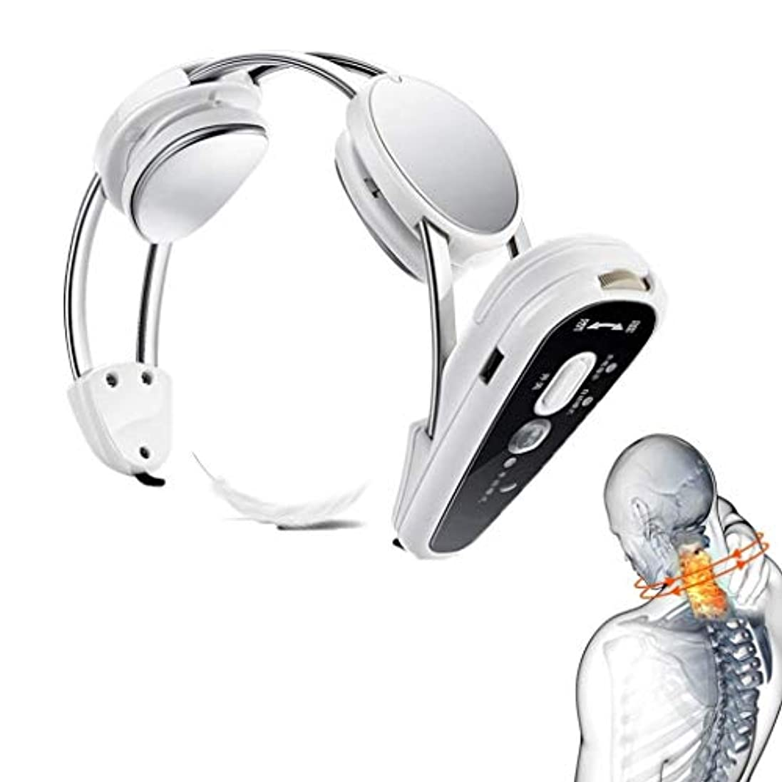 誘発する刺す中断熱くするUSB??充満の電気首のマッサージャーは筋肉痛を取り除き、慢性的な首の苦痛を取り除きます、家、オフィス/車/家のポータブル