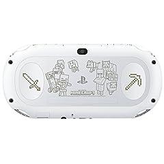 PlayStation Vita マインクラフト限定モデル ソフト&携帯ポーチ同梱【Amazon.co.jp限定特典】液晶&背面タッチパッド保護フィルム
