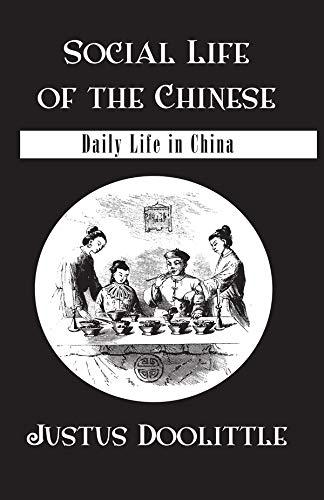 Social Life Of The Chinese (Kegan Paul China Library) (English Edition)