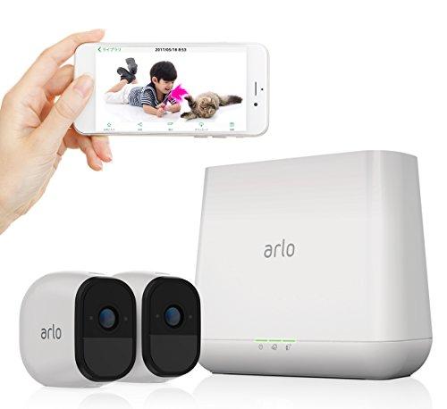 NETGEAR クラウド ネットワークカメラ Arlo Pro...