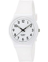 [SWATCH]スウォッチ 腕時計 GENT(ジェント) JUST WHITE SOFT GW151O 【正規輸入品】