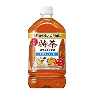 [トクホ]サントリー 伊右衛門 特茶 カフェインゼロ お茶 1L×12本