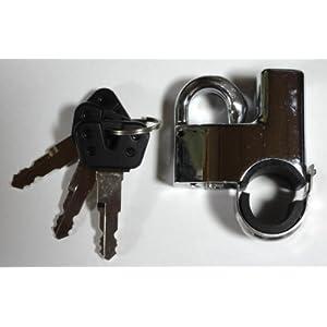 シージーシー(C.G.C) ヘルメットロック 22-25φ用 メッキ CGC-21114