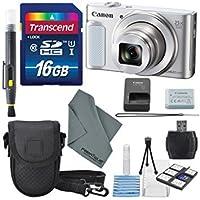 Canon PowerShot sx620HSデジタルカメラalong with Deluxe Accessoryバンドルとクリーニングキット