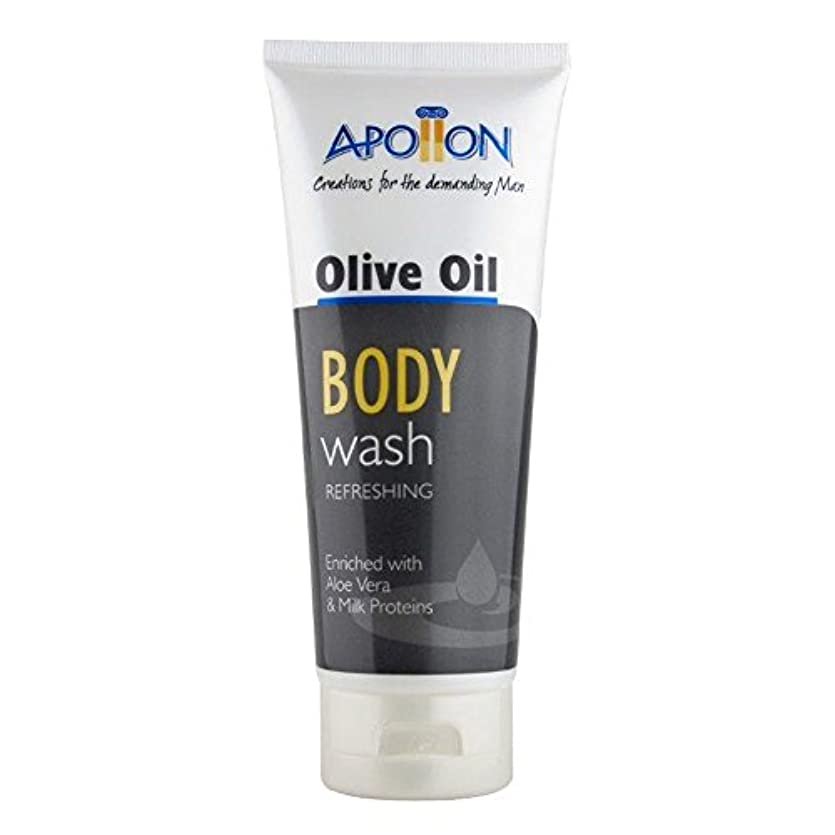 部分使い込む旅行者Aphrodite Apollon Olive Oil Body Wash for Men 200ml [Misc.] / ???200????????????????????????????????????[ Misc. ]