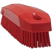 Vikan(ヴァイカン) まな板洗浄ブラシ レッド 6441 ボディ部=ポリプロピレン フィラメント=ポリエステル JBLE702