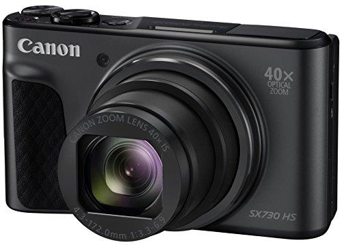 Canon コンパクトデジタルカメラ PowerShot SX730 HS ブラック 光学40倍ズーム PSSX730HS(BK) -