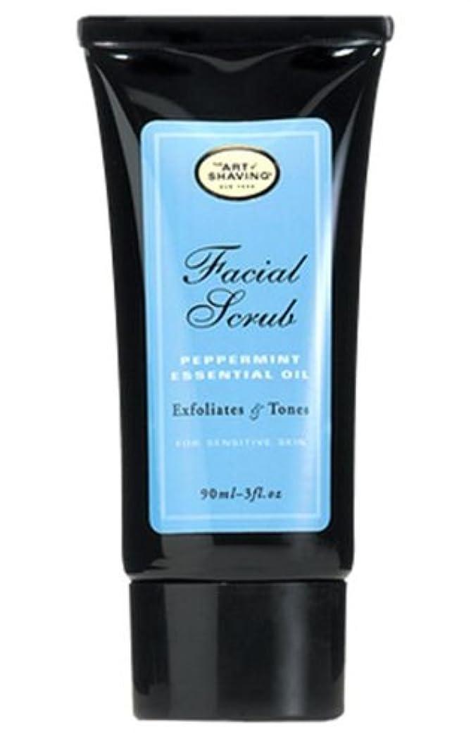 実行テロ速度The Art Of Shaving Facial Scrub With Peppermint Essential Oil (並行輸入品) [並行輸入品]