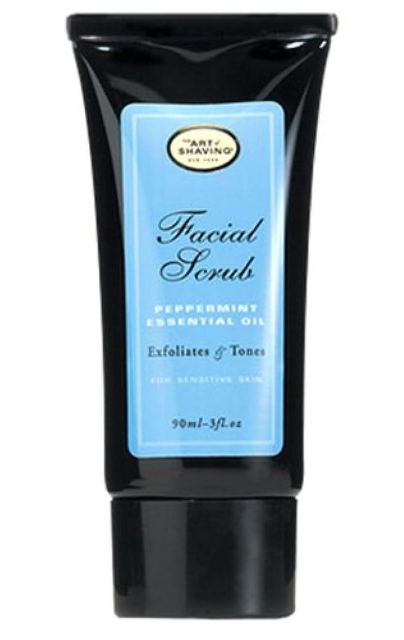 世辞好戦的なレパートリーThe Art Of Shaving Facial Scrub With Peppermint Essential Oil (並行輸入品) [並行輸入品]