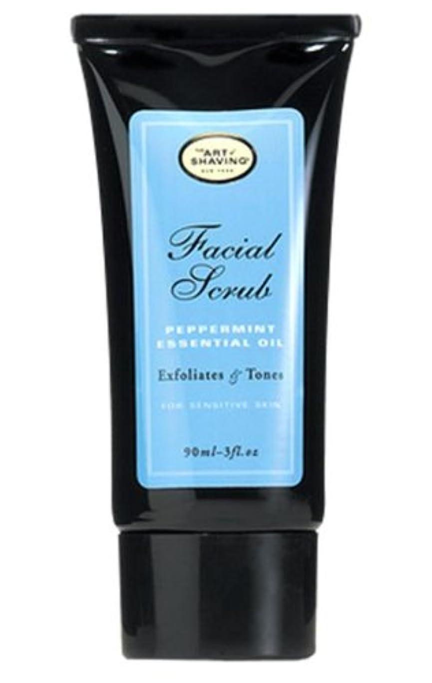 銅スナッチ飾り羽The Art Of Shaving Facial Scrub With Peppermint Essential Oil (並行輸入品) [並行輸入品]