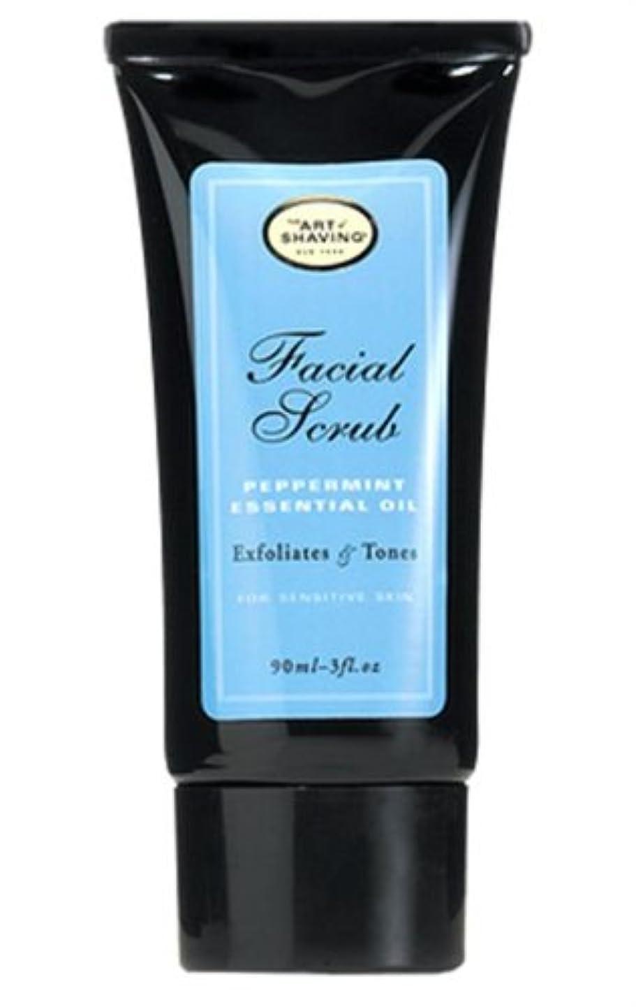 穏やかな市区町村敵対的The Art Of Shaving Facial Scrub With Peppermint Essential Oil (並行輸入品) [並行輸入品]