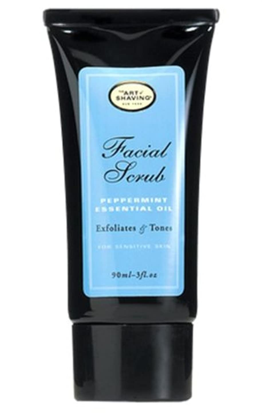 指標音楽家ブランド名The Art Of Shaving Facial Scrub With Peppermint Essential Oil (並行輸入品) [並行輸入品]