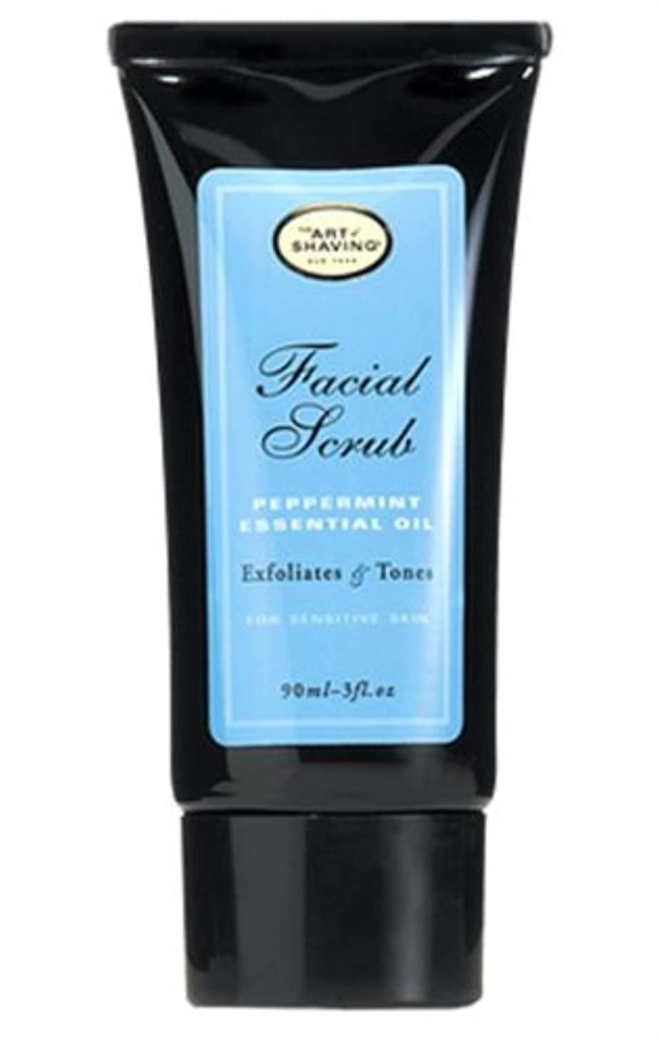 文字東まばたきThe Art Of Shaving Facial Scrub With Peppermint Essential Oil (並行輸入品) [並行輸入品]
